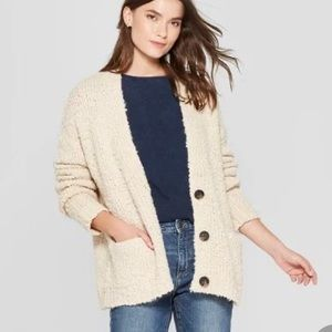 Textured Cardigan - Universal Threads, size L.